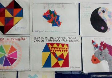 Mosaico de Triângulos