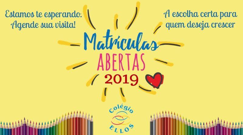 Matrículas Abertas 2019